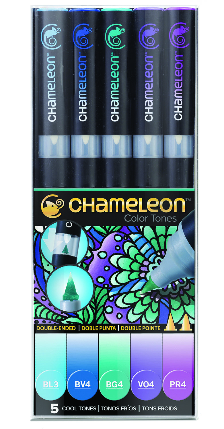 Chameleon 5 Pen Set Cool