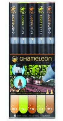 Chameleon 5 Pen Set Earth