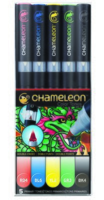 Chameleon 5 Pen Set Primary