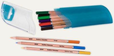 Pencils Watercolour Pod Derwent Academy Set of 12