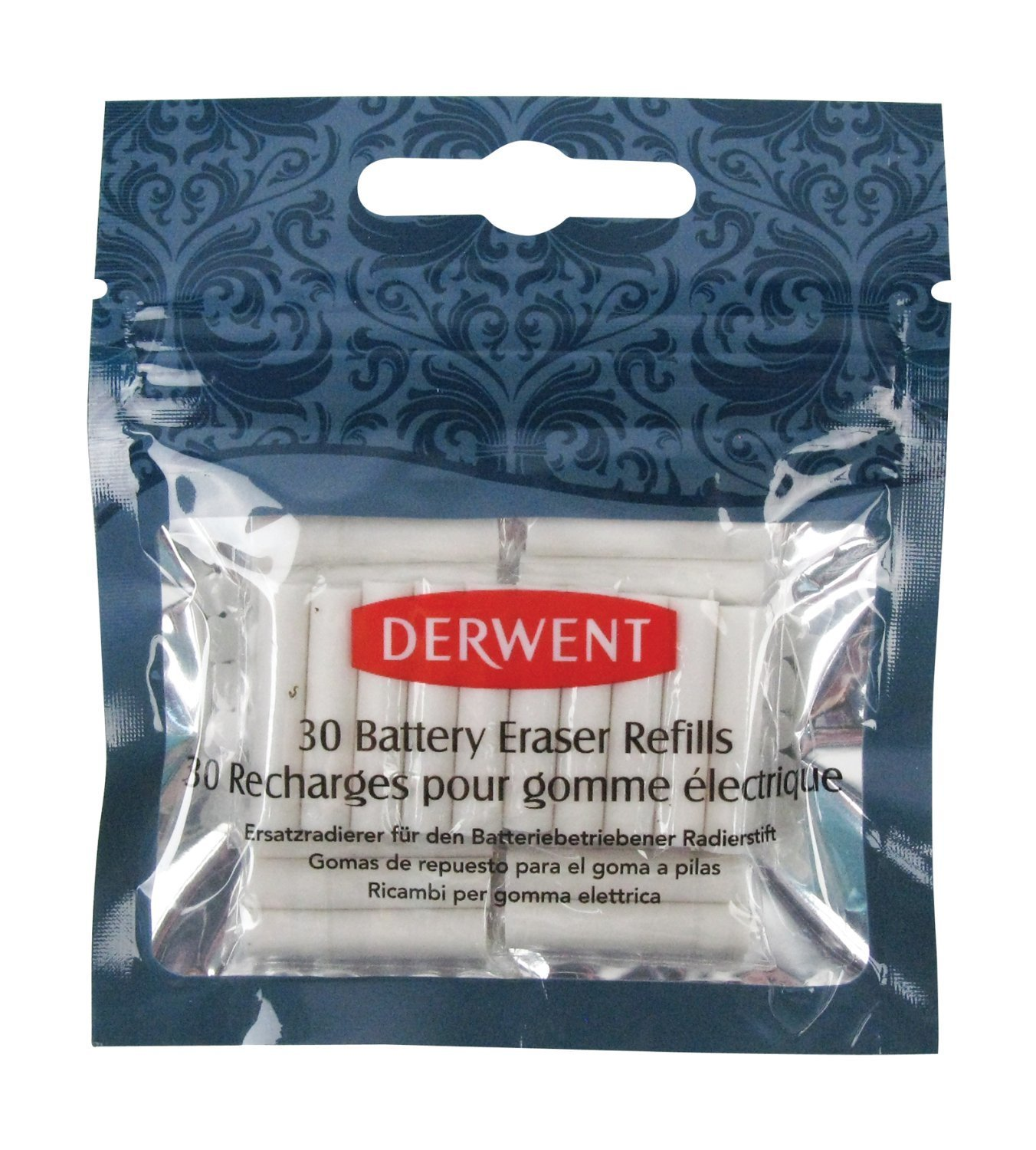Eraser Battery Derwent Refills 30pc