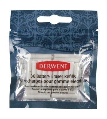 Eraser Battery Derwent Refills 30pc