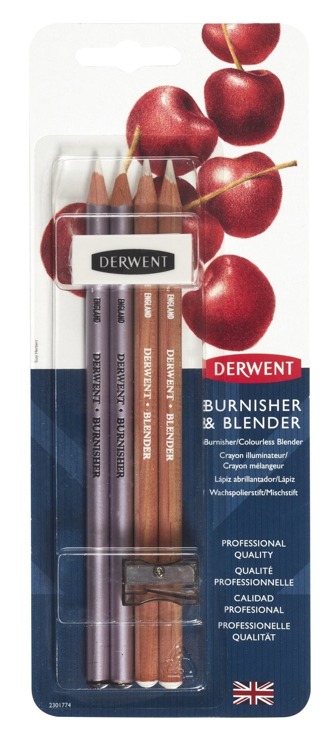 Burnisher and Blender Set Derwent
