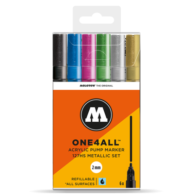 Marker Molotow Acrylic Metallic ONE4ALL 2mm 127