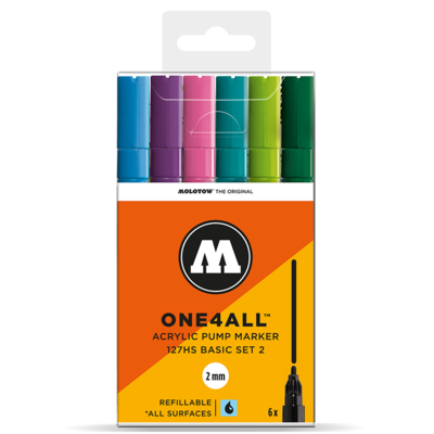 Marker Molotow Acrylic Basic Set 2 ONE4ALL 2mm