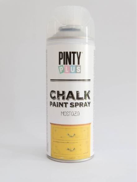 Pinty Chalk 400ml Yellow Mustard