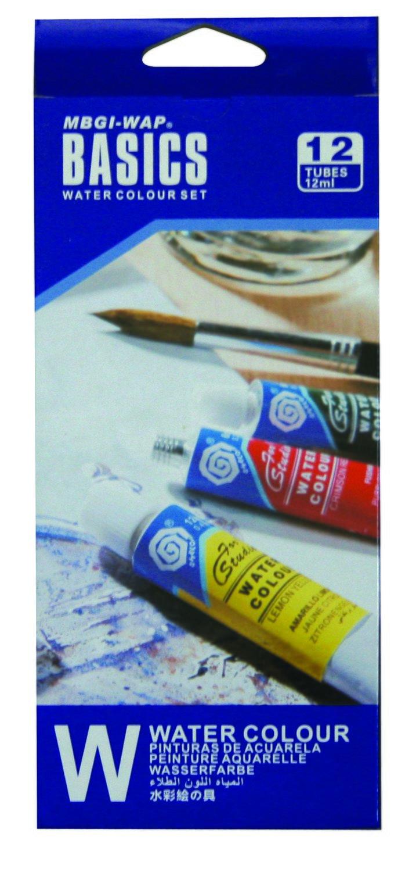 Paint Watercolour Basics 12ml Set of 12