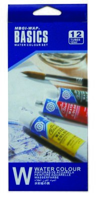 Paint Watercolour Basics 12ml Set of 12