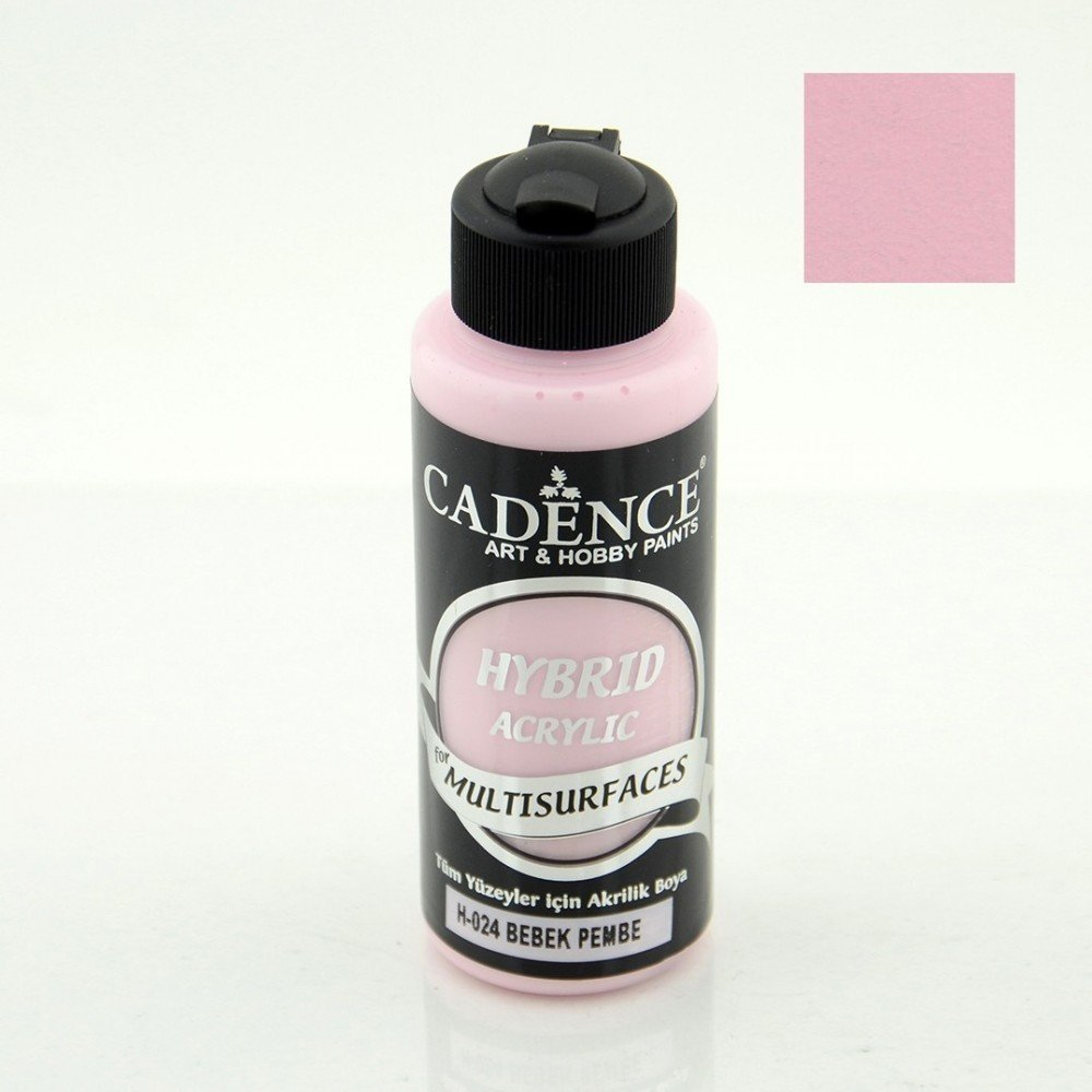 Paint Acrylic Hybrid Cadence Multi Surface Baby Pink 70ml