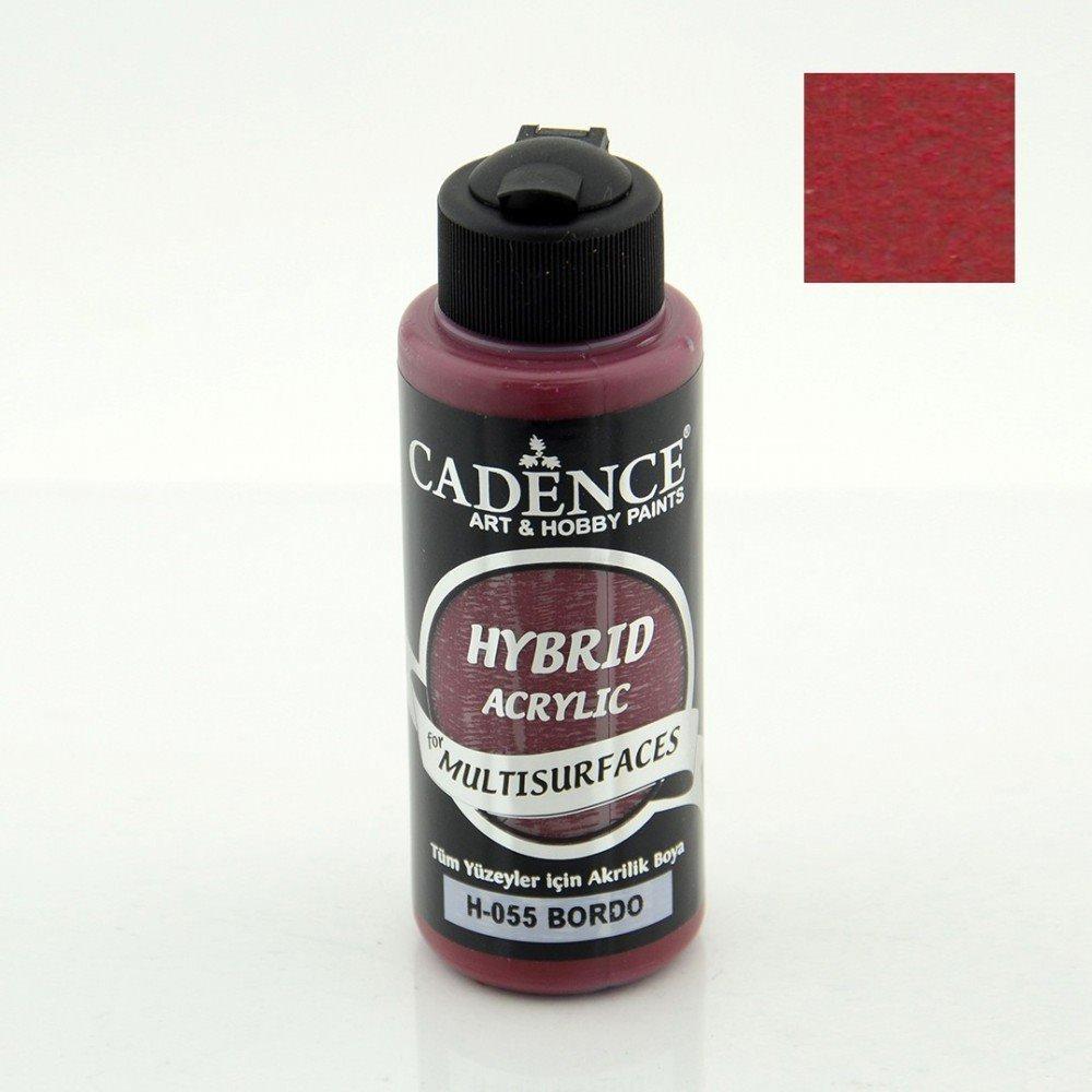 Paint Acrylic Hybrid Cadence Multi Surface Bordeaux 70ml