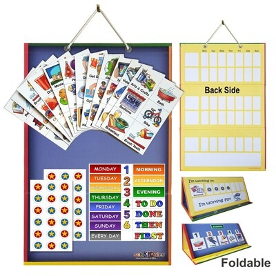 2-in-1 Board and Magnets Home Bundle