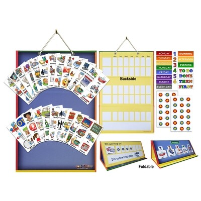 2-in-1 Board and Magnets Complete Bundle