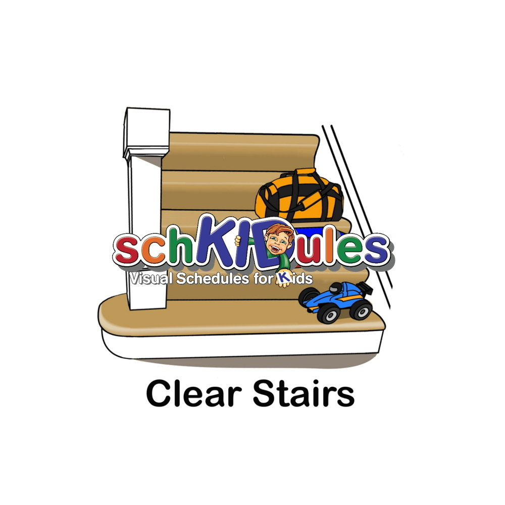 Clear Stairs MAG-CLEARSTAIRS