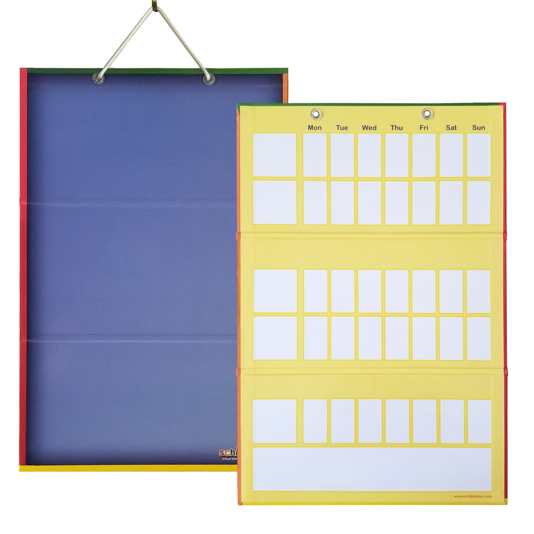 2-Sided Magnetic Kids Calendar Board SVS-BOARDV3