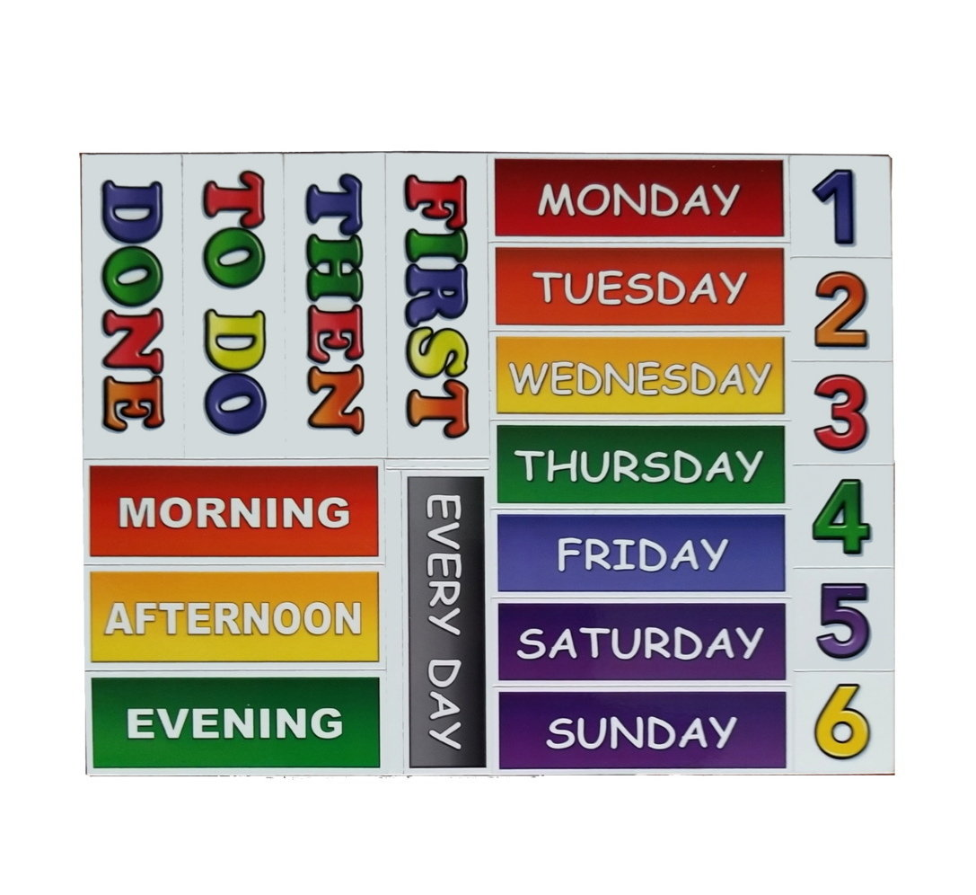 21 Pc Headings Sheet