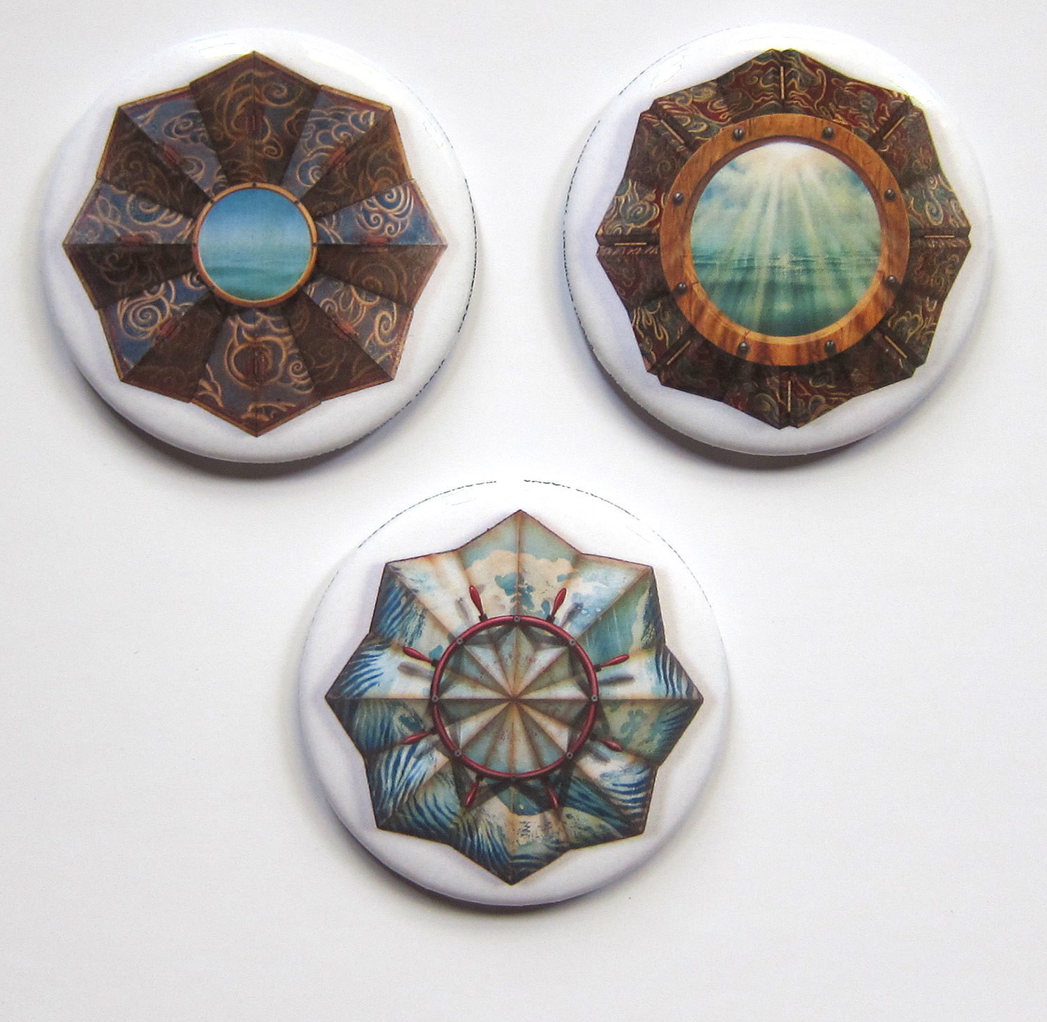 """Axis Mundi"" magnet set"