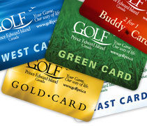 Golf Cards, Gift Certificates & Specials