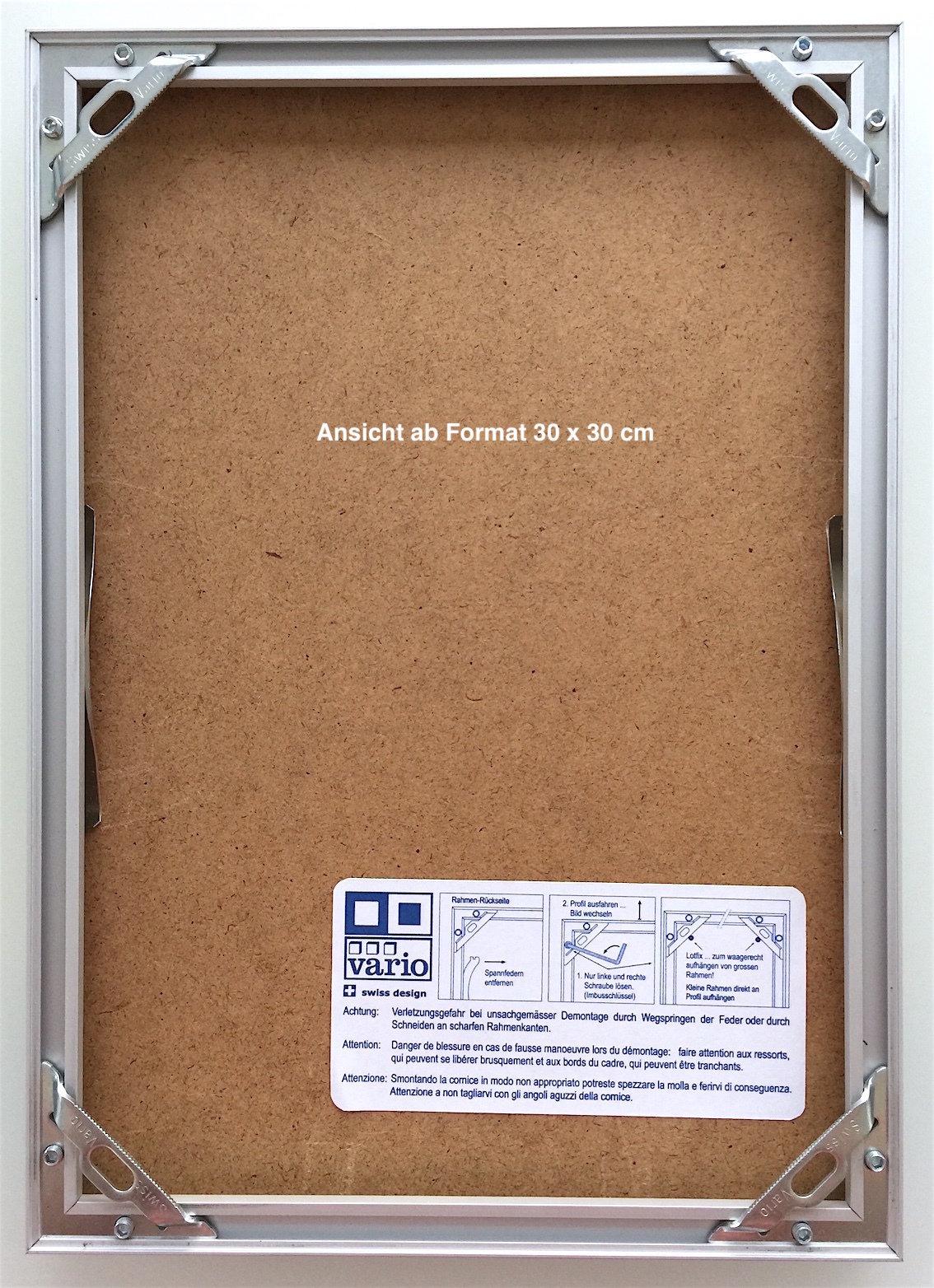 Visuelle Info: Sämtliche fotografierten Rahmen sind im Format 21 x ...
