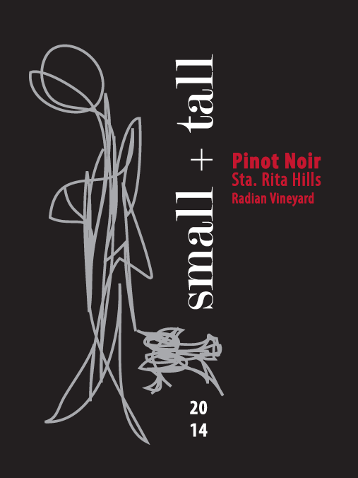 "2014 Radian Vineyard, ""Grace"", Sta Rita Hills, Pinot Noir"