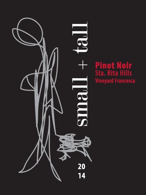 "2014 Vineyard Francesca, ""Dignity"", Sta Rita Hills, Pinot Noir"