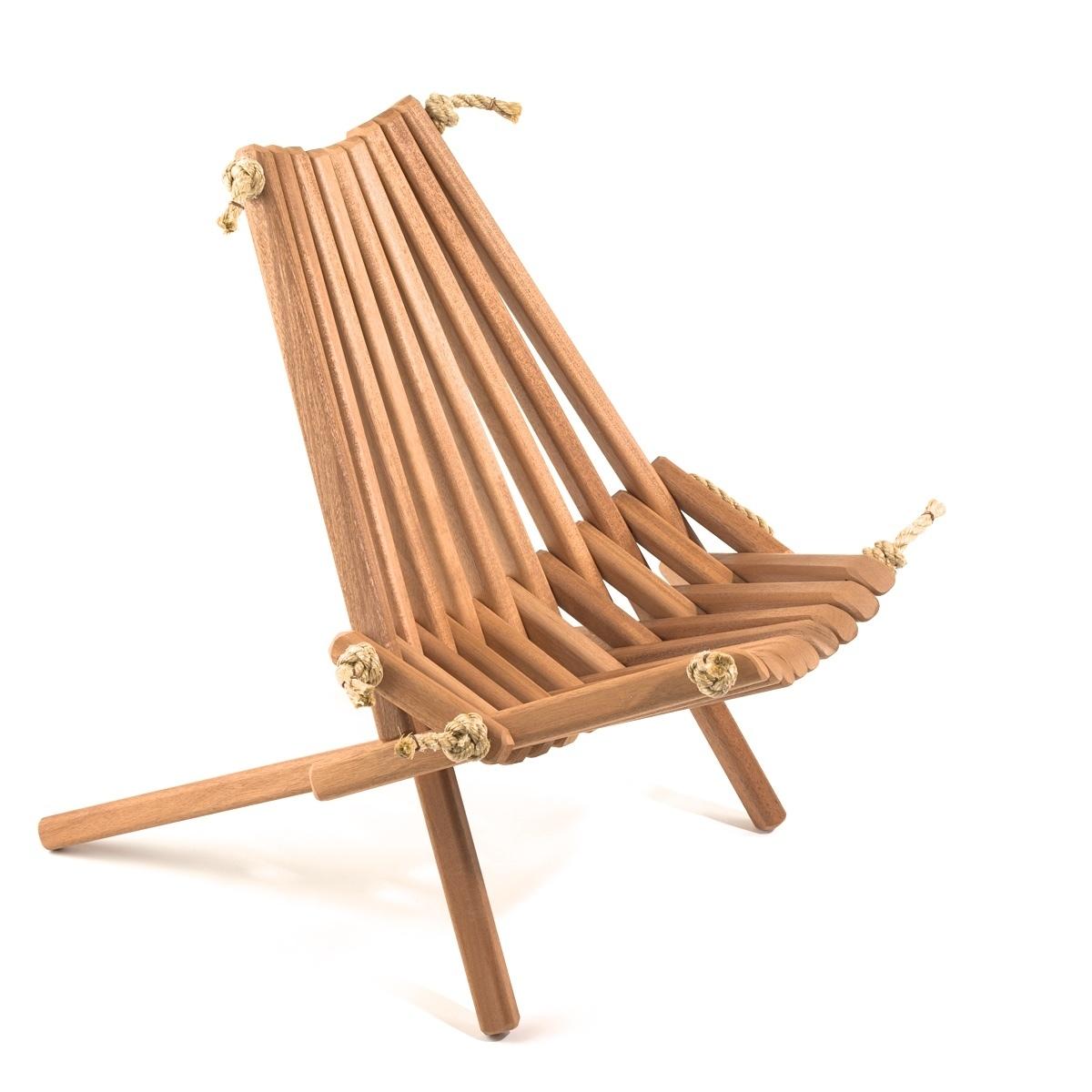 Mahogany Pioneer Chair MAH6444
