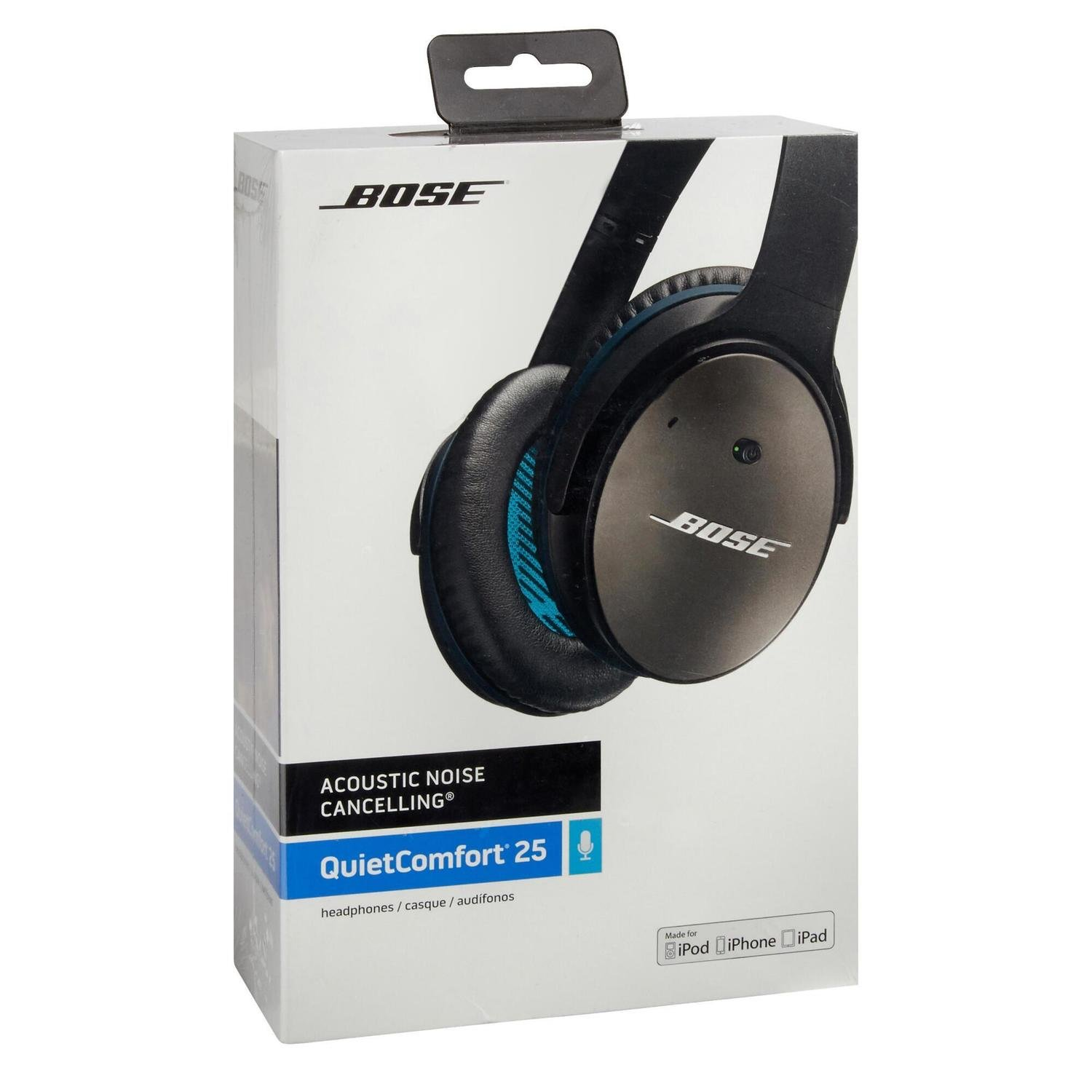 09498d168f3 BOSE QuietComfort QC25 Acoustic Noise Cancelling headphones - Apple
