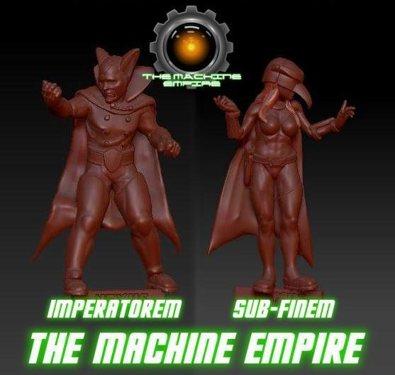 Sub-Finem & Imperatorem - Machine Empire Commanders