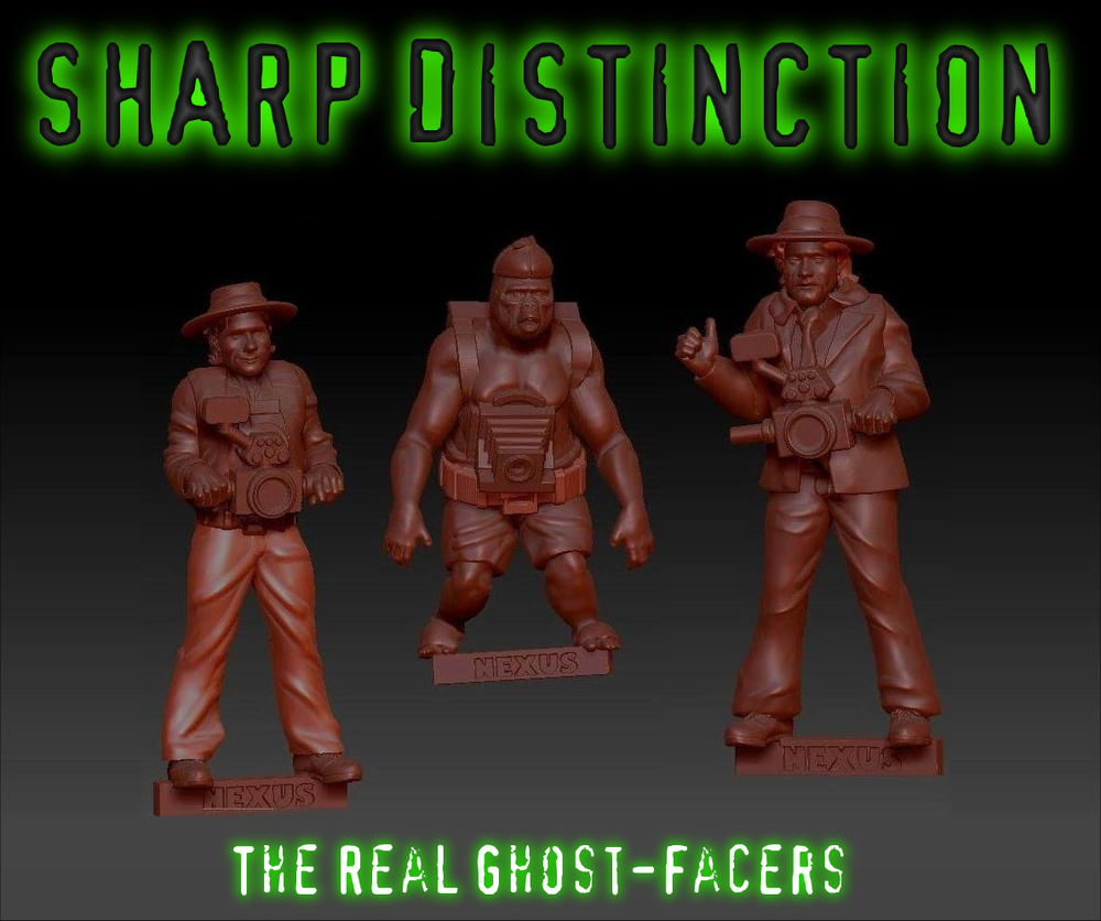 The Real Ghost-Facers