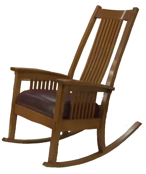 Full Size Plans For Craftsman Style Rocking Chair