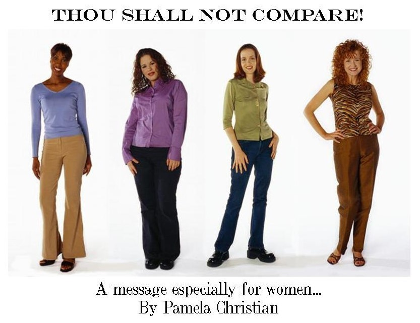Thou Shall Not Compare!