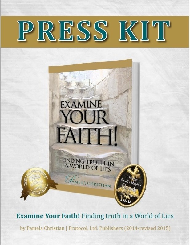 Examine Your Faith Press Kit - Zipped File