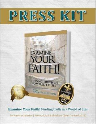 Examine Your Faith Press Kit - Zipped File