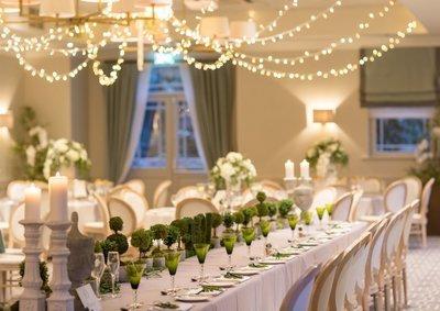 Fairylight ceiling