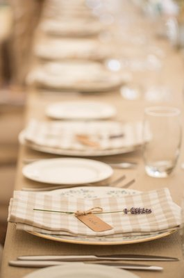 Check Gingham napkin
