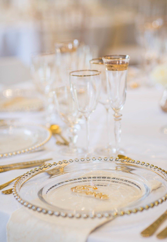 Tableware - table of 9