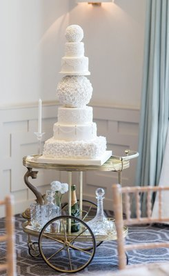 Cake display - trolley