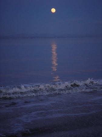 Full Moon. Ireland