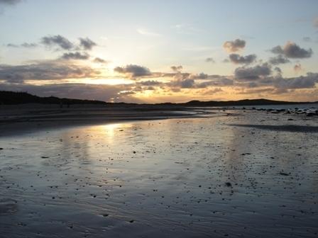 Beach Sunset. Ireland