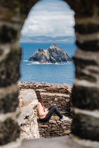 Skellig Michael. Ireland