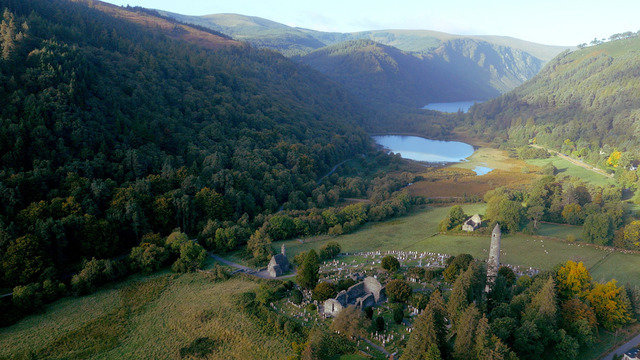 DUBLIN - GLENDALOUGH & POWERSCOURT GARDENS DAY TOUR - $79.00