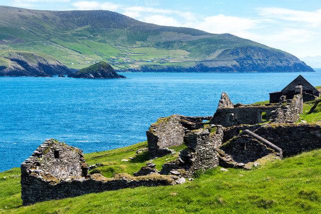 Great Blasket Island. West Kerry
