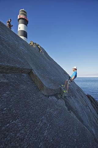 Lighthouse on Ireland's Wild Atlantic Way