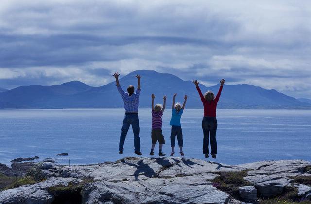 On Top of The Worls, Malin Head. Ireland