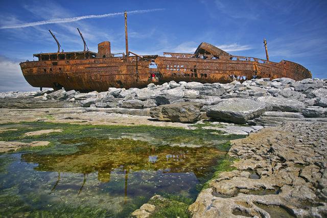 Shipwrecked in Ireland