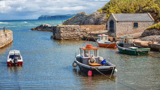 Boating in the West of Ireland