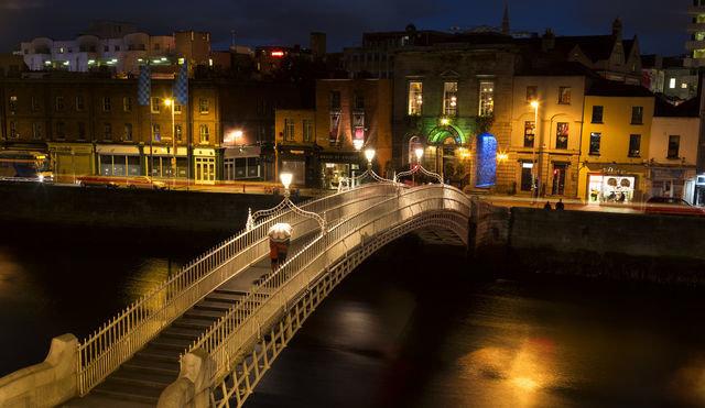 Bridge over the River Liffey, Dublin