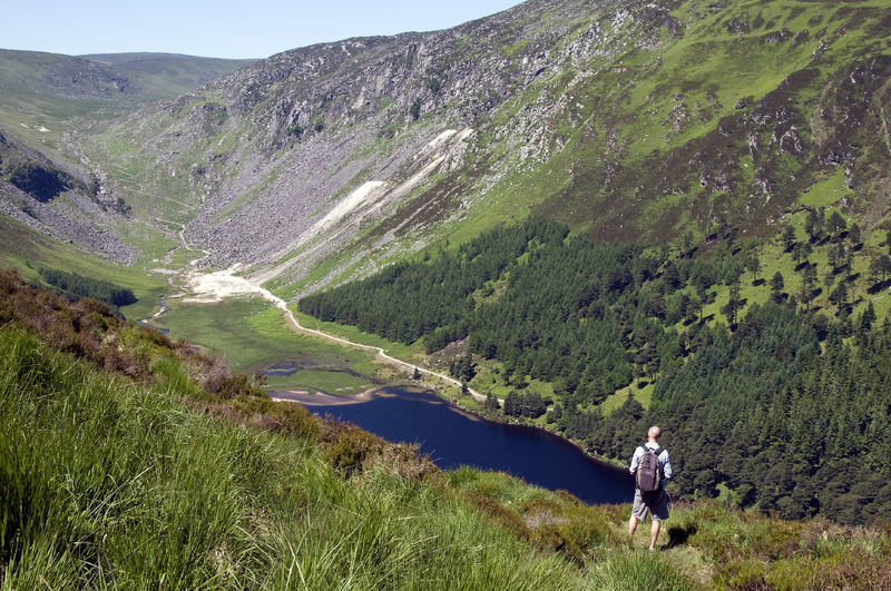 Hicking in the Wicklow Mountains