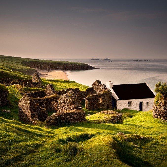 The Blasket Island, West Kerry