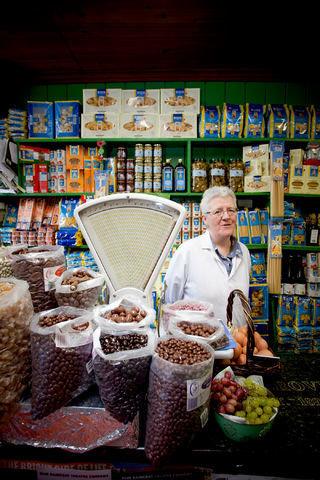 Shop Keeper in Ireland