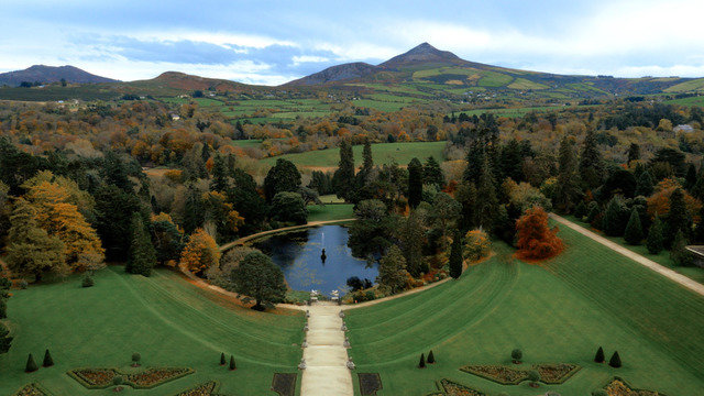 Powerscourt Gardens, Wicklow